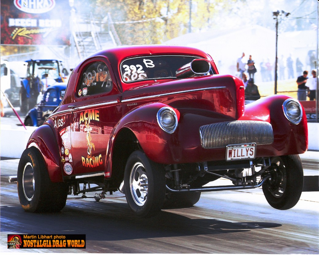 NOSTALGIA DRAG WORLD - Geezer Gassers by Chuck Lipka