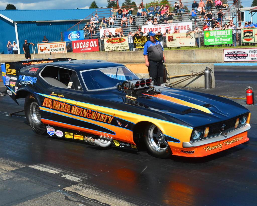 Baxter Auto Parts >> NOSTALGIA DRAG WORLD - Woodburn Dragstrip 44th Annual Season Opener May 2017