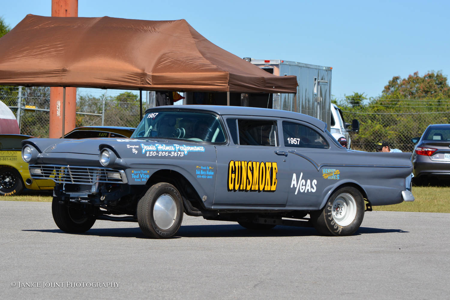 NOSTALGIA DRAG WORLD - Gasser Blowout 4 with the Southern Gassers at Atmore Dragway December ...